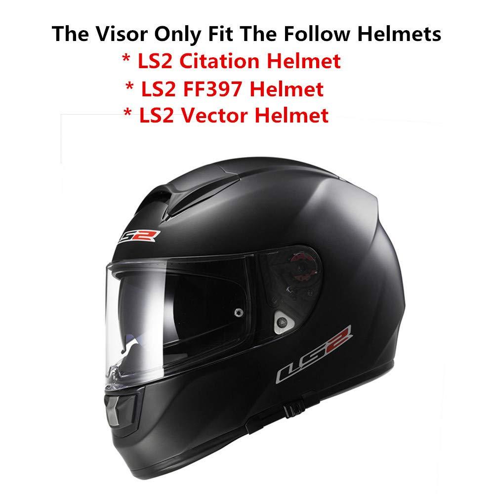 Amazon.com: LS2 - Visera para casco de motocicleta, fibra de ...