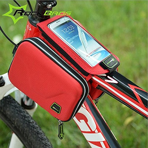 ROCKBROS MTB Touch Screen Mobile Phone Package ( Black )