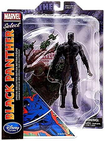 Disney Marvel Select Black Panther 7 Action Figure Special Collector Edition Toy Figures at amazon