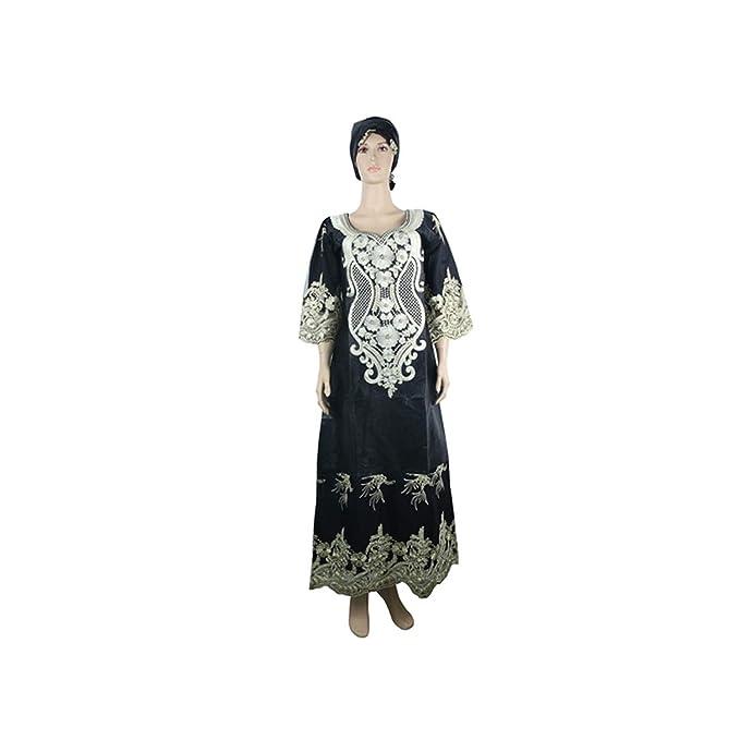 Dashiki African Dresses for Women South Africa Bazin Riche