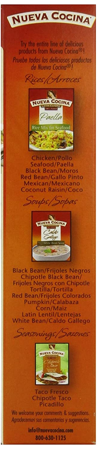 Amazon.com : Nueva Cocina Coconut Raisin Long Grain Rice Mix, 7.3-Ounce (Pack of 6) : Rice Produce : Grocery & Gourmet Food