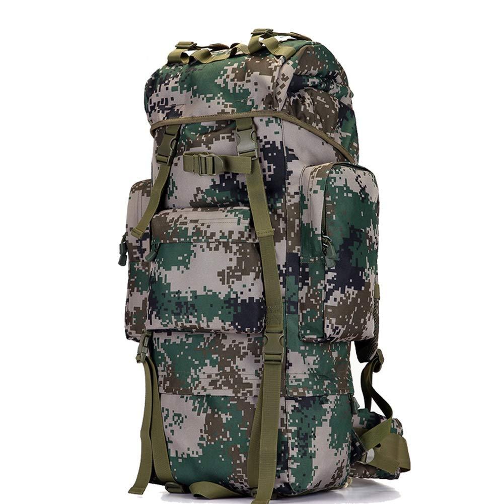 バックパック ハイキング デイパック ミリタリータクティカルマウンテン登山バッグ 軽量 ツーリズム 男性 女性 70/100L 100L 100L スタイル3 B07GXPLL43
