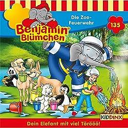 Die Zoo-Feuerwehr (Benjamin Blümchen 135)