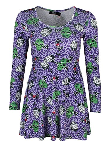 Iron Fist Back From The Dead Dress Purple