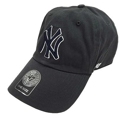 c8371368f92 australia 47 brand mlb new york yankees clean up cap charcoal gray 44934  b6724