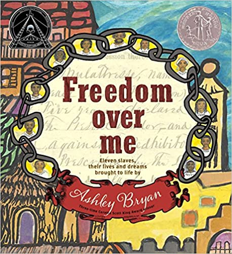 cover of freedom over me