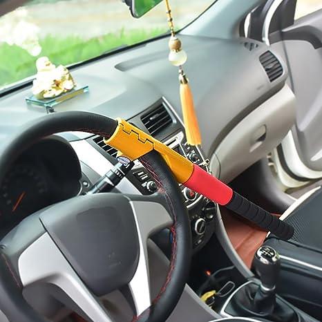 How To Unlock Steering Wheel >> Amazon Com Lpy Car Baseball Bat Steering Wheel Lock Sports