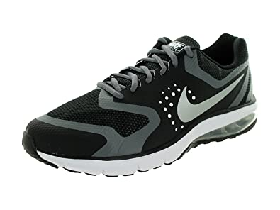 Nike Men's Air Max Premiere Run Running Shoe, Black/Metallic Silver-Dark  Grey