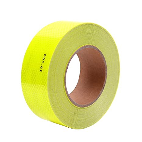 2quotx 40 Dot Class 2 Reflective Tape Roll Micro Prismatic Sheeting Safety Warning
