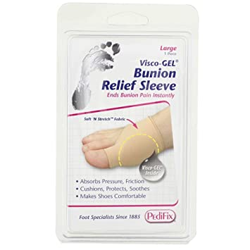 Amazon.com: Pedifix visco-gel Bunion & met Protection Sleeve ...