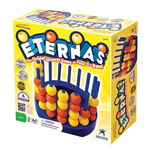 Maranda Enterprises Eternas - The Circular Strategy Game of Four-in-a-Row!