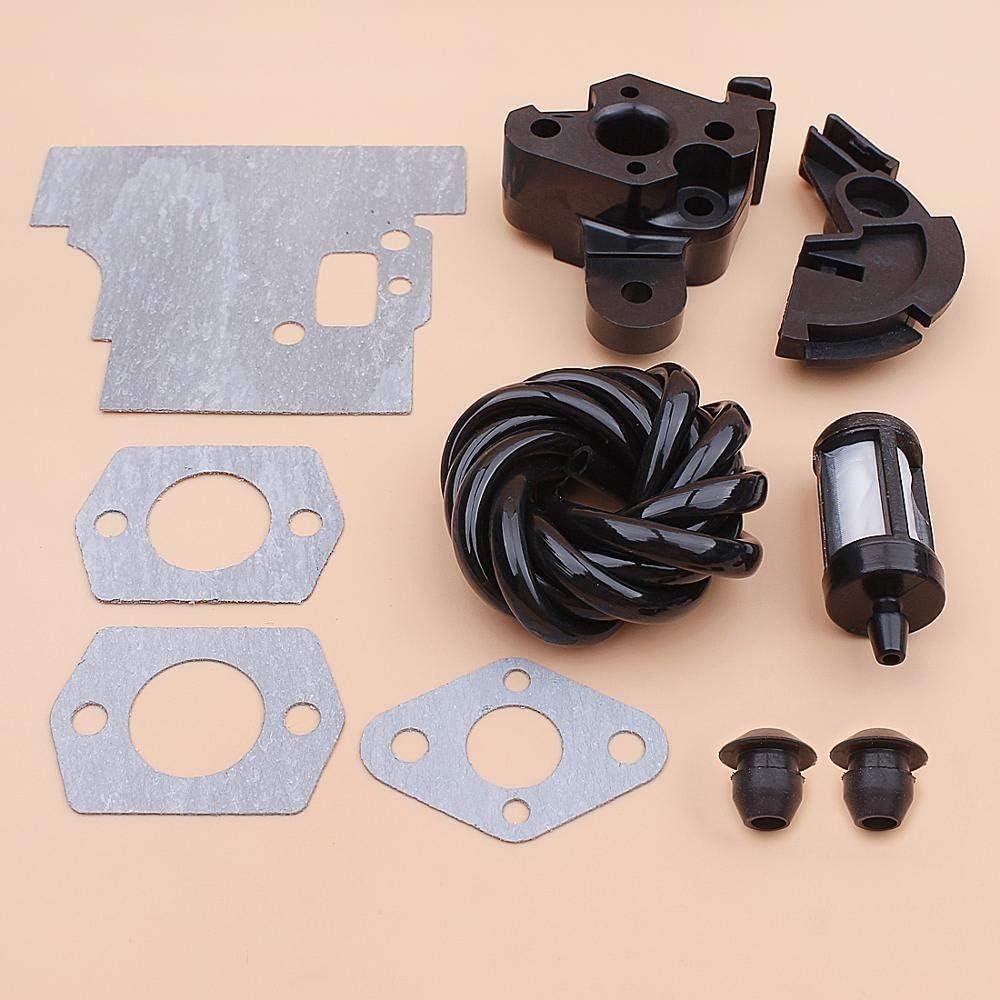 Beixi Time Intake Manifold Carburetor Flange Gasket for Stihl FS75 FS80 FS85 Fuel Filter Line Hose Grommet Set Grass Trimmer