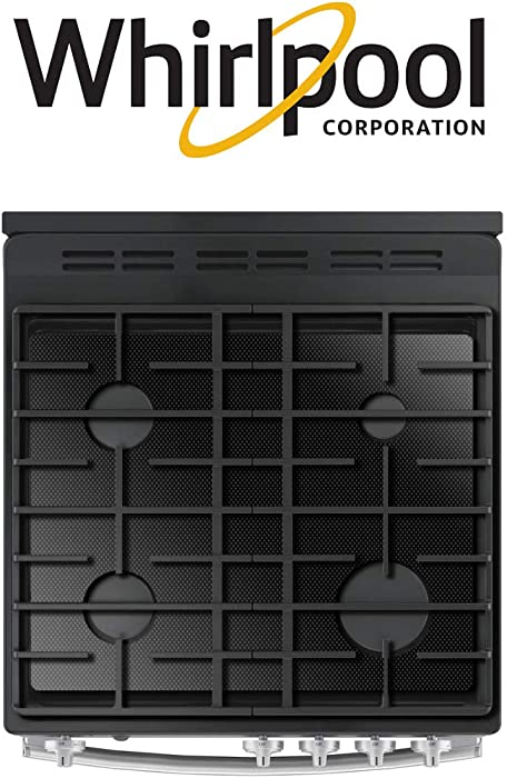 FireFly Home Stove Top Protector for Whirlpool Gas Range Stove Top, Custom Fit Ultra Thin Reusable Burner Splatter Spill Guard Protective Cover Liner - WFG525S0HV