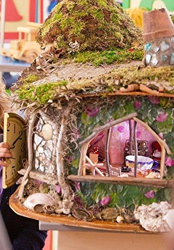 Christmas With Holly.Amazon Com Fairy House Cottage As Seen On Hallmark S