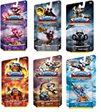 UCC Distributing Skylanders Superchargers Exclusive Mystery Starter Pack Set of 6 Includes 6 Random Skylander Figures - Will Vary and No Duplicates