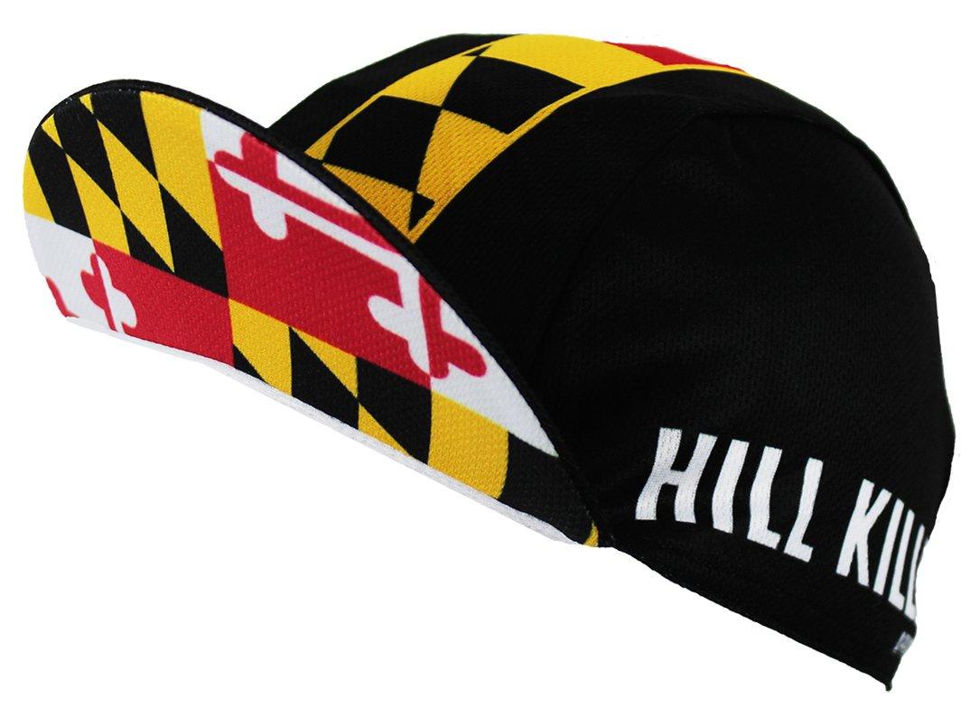 Hill Killer Maryland Flag Cycling Cap