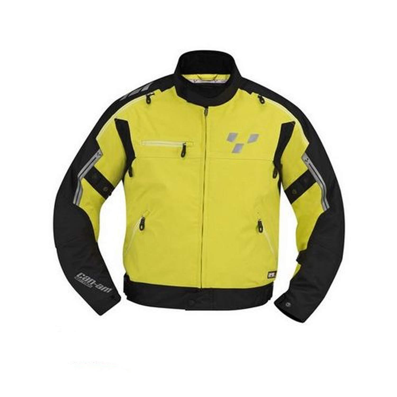 4406061226 Can-Am Spyder New OEM Mens Cruise Jacket XL Hi-Vis Yellow