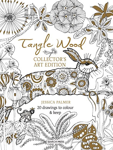 Tangle Wood Collector's Art Edition: 20 drawings to colour & (Collector Wood)
