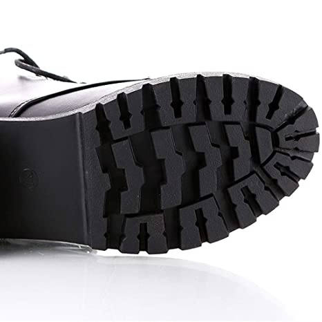 Amazon.com: Botas de tobillo de plataforma para mujer, de ...
