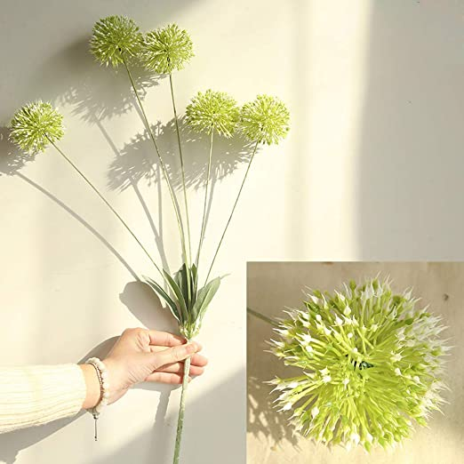 Gardening Dandelion Artificial Flowers 7 Heads Branch Flower Bouquets Making NEW