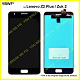 YBWF LCD Display and Touch Digitizer Glass for Lenovo Z2 Plus(Black)
