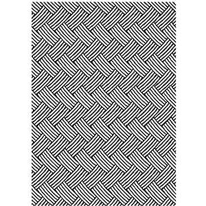 Darice Embossing Folder, 5 by 7-Inch, Basketweave