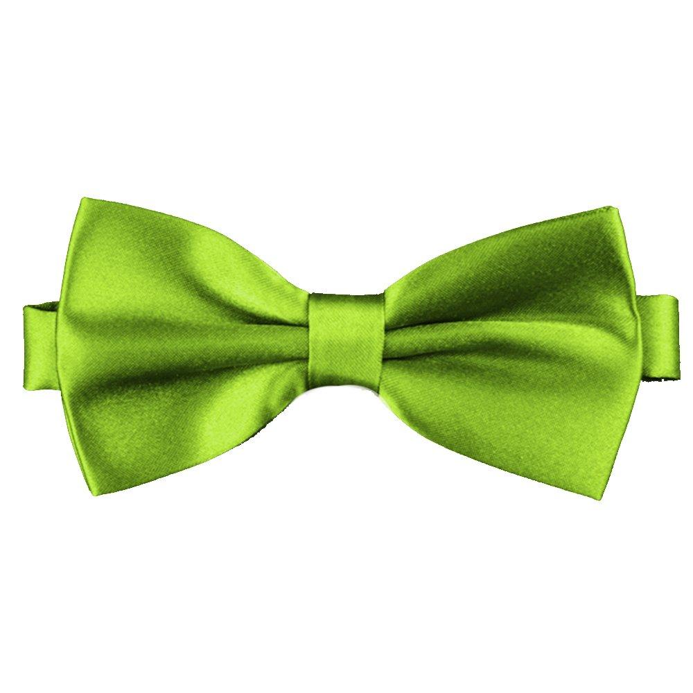 Flairs New York Little Gentleman's Kids Bow Tie Avocado Green)