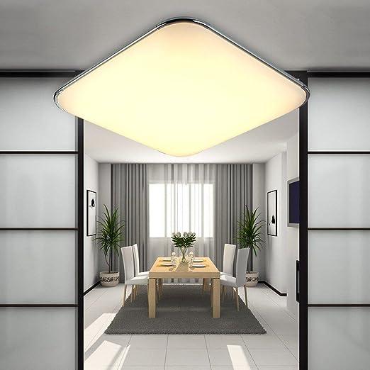 LL Moderne LED de techo moderna lámpara de techo para ...