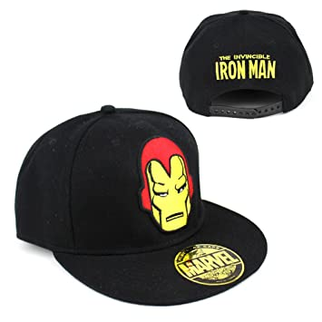 Marvel Comics Iron Man para hombre gorra snapback de Iron Mask ...