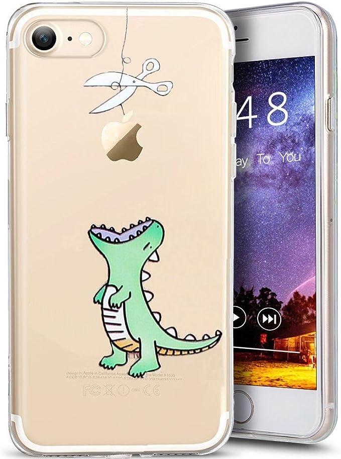 iPhone 8 custodia con stampa animalier, cover per iPhone 7, Gdme ...