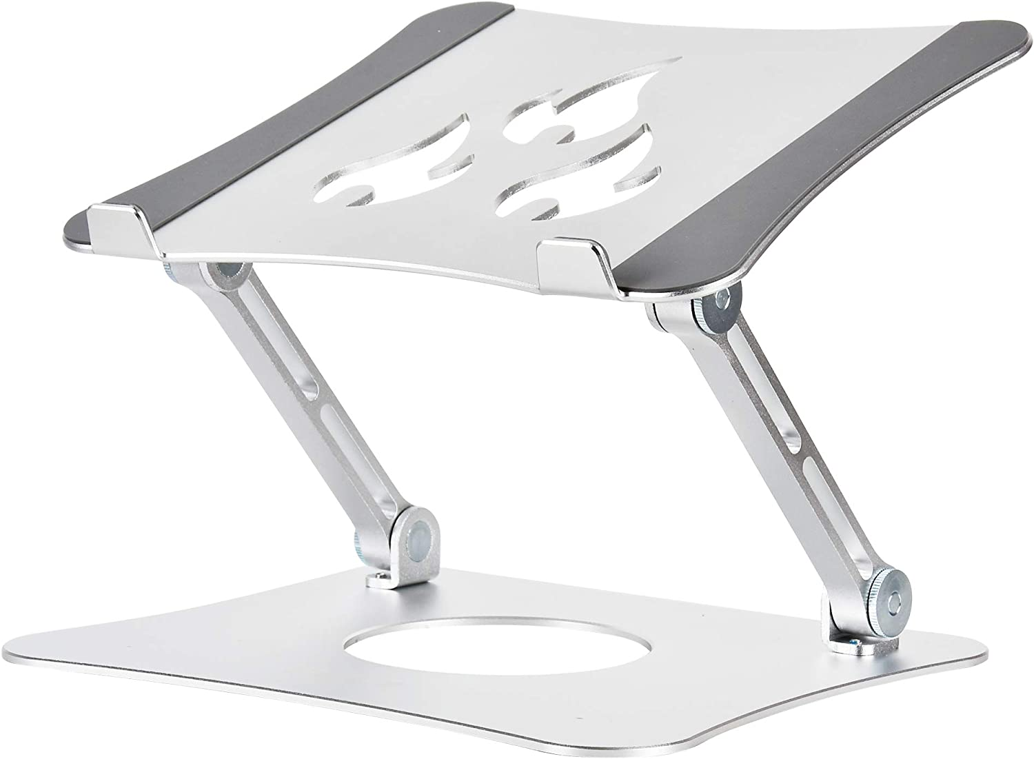 Adjustable Laptop Stand for Desk Portable Laptop Riser Notebook Holder Ergonomic Aluminum Laptop Vertical Computer Stand Heat-Vent Compatible with MacBook Air/Pro Surface Ipad Dell Xps HP 10-15.6
