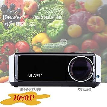 Factorys 1080P Mini proyector, 1080P y 200 Pantalla Compatible ...