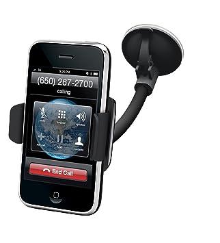 Kensington K39256EU - Soporte y cargador para coche de iPhone 4/4S, color negro
