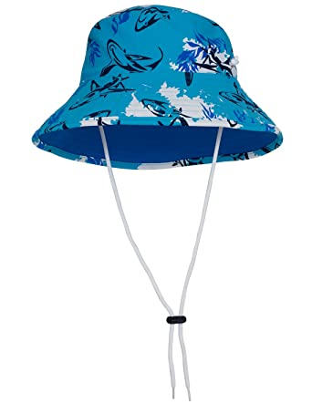 5139a8ed9ac Tuga Boys UV Reversible Bucket Hat - UPF50+ Sun Protection (3 Sizes    Colours Available)  Amazon.co.uk  Clothing