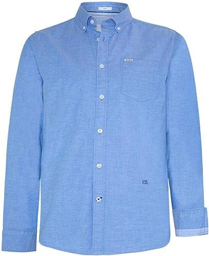 Camisa Pepe Jeans Jayson Azul Hombre L Azul: Amazon.es: Zapatos y complementos