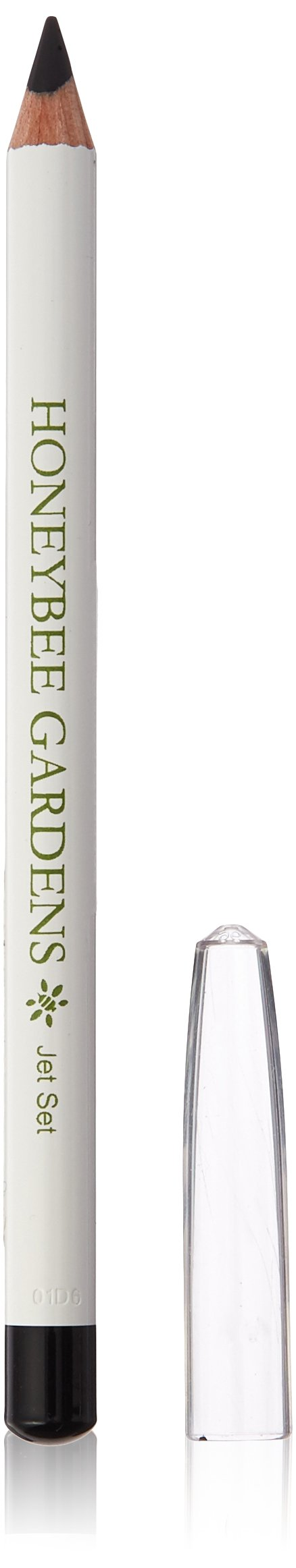 Honeybee Gardens Jobacolors Vegan Gluten-Free Jet Set Black Effortless Eye Liner, 0.04 oz