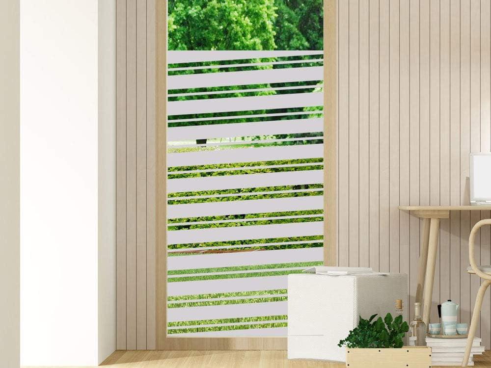 50 cm GD30 Folie Sichtschutz Aufkleber Glasdekorfolie Bad Dusche Duschwand Badezimmer Glasdekor H/öhe ca