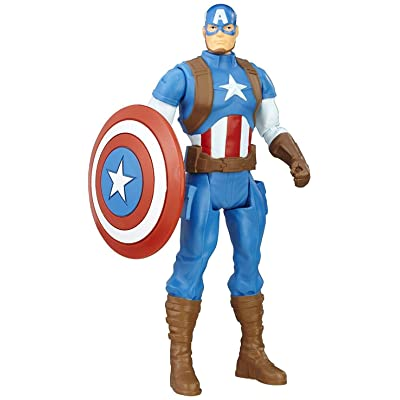 Marvel Avengers Captain America 6-in Basic Action Figure: Toys & Games