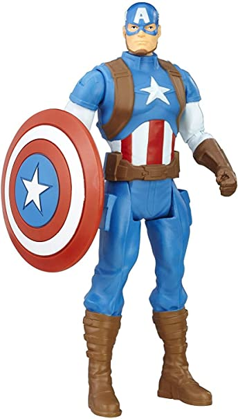 Captain America Marvel Avengers Heroes Action 6x Mini Figures Toys use with lego