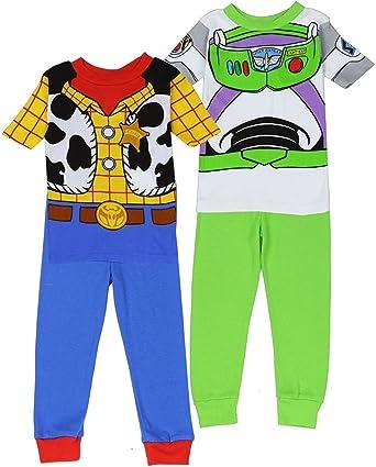 Boys Disney Woody Pajamas Toy Story Pyjamas Long Set