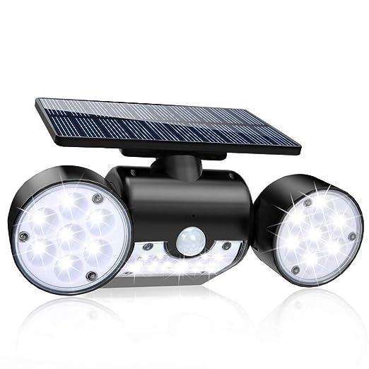 GYFHMY Proyectores de Doble Cabezal Gran Angular con luz de Sensor ...