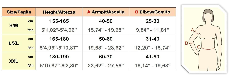 Mini Armas Mangas Compresión Masaje Alta Top Para De Czsalus dxFSCYqd