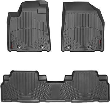 Black WeatherTech 40377 Custom Fit Cargo Liners for Lexus RX