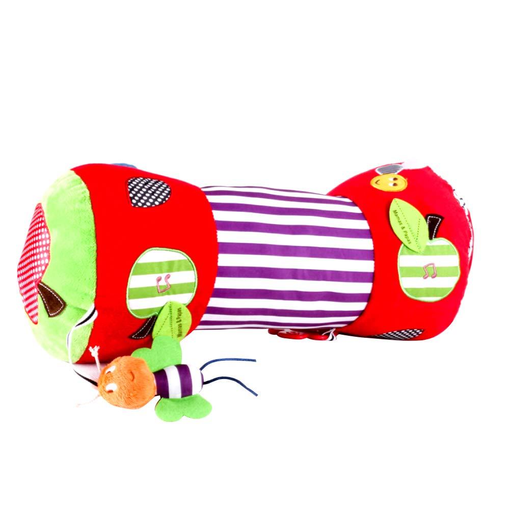 suave y multifunci/ón Almohada para gatear de beb/é almohada con rodillo de arrastre rodillo de gatear para beb/é reci/én nacido