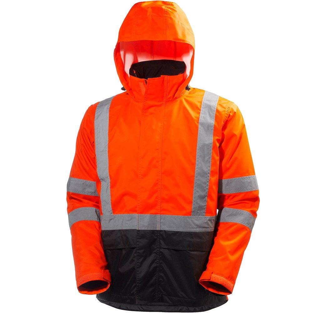Helly Hansen 71071_269-M Alta Jacket, Medium, Orange/Charcoal