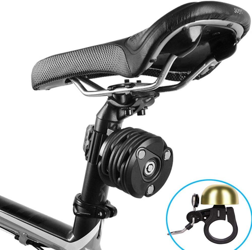 Candado Plegable- Bicicleta Cerradura antirrobo Cerradura de ...