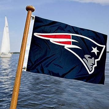 Wincraft New England Patriots barco y bandera de carro de golf: Amazon.es: Deportes y aire libre