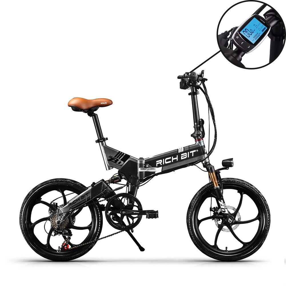 電動アシスト自転車 20インチ 折り畳み 自転車 アシストのみ アクセルなし 日本専売 公道で走ることができます (グレー) B07D4GMSFZ