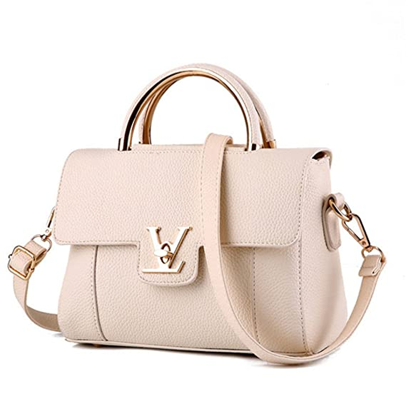 d3187620797 Amazon.com: Fake Bags V Women's Luxury Leather Clutch Bag Ladies ...