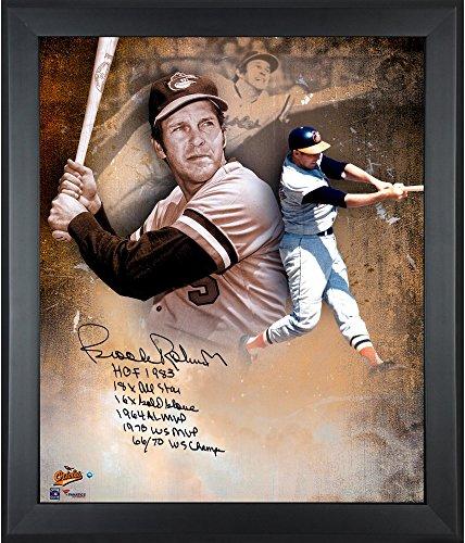 Baltimore Orioles Brooks Robinson Framed (Brooks Robinson Baltimore Orioles Framed Autographed 20